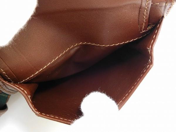 ダンヒル 財布 dunhill 二つ折り財布 男女兼用 ブラウン×ブラック 即納 【中古】 X16294