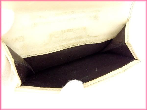 グッチ 財布 GUCCI 二つ折り財布 ホワイト 人気 激安 【中古】 X5935