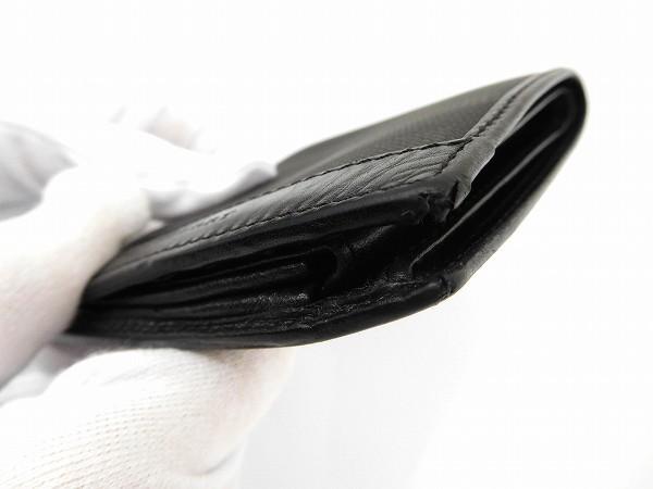 バーバリー 財布 BURBERRY 二つ折り財布 ブラック 即納 【中古】 X14738
