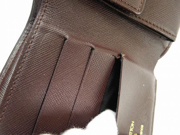 ルイヴィトン 財布 二つ折り財布 三つ折り財布 ポルトビエ カルトクレディ モネ スリーズ(チェリー) 人気 即納 【中古】 X14814