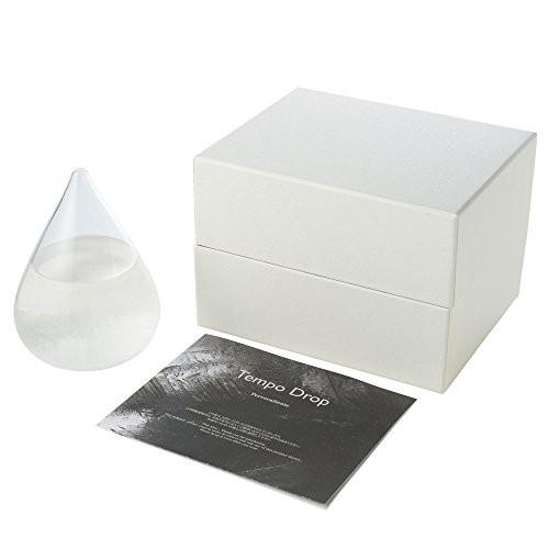 Perrocaliente 正規品 Tempo drop mini テンポドロップ ミニ ストームグラス 樟脳 の 結晶 が おしゃれ な しずく型 の インテリア 天候