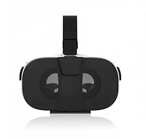 KAWOE VRメガネ 3DVRグラス 頭部装着 仮想現実 超3D映像効果 立体動画 ゲーム 4.0-6.5インチのIOSやAndroidスマホに適用
