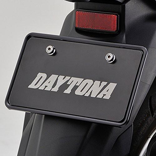 デイトナ(DAYTONA) ALナンバープレートホルダー (126CC以上) L ブラック 77057