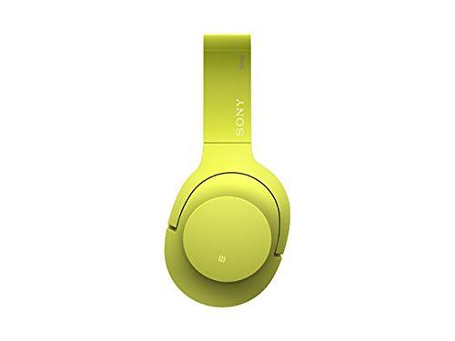 ソニー SONY ワイヤレスノイズキャンセリングヘッドホン h.ear on Wireless NC MDR-100ABN : ハイレゾ/Bluetooth対応 マイク付き ライム