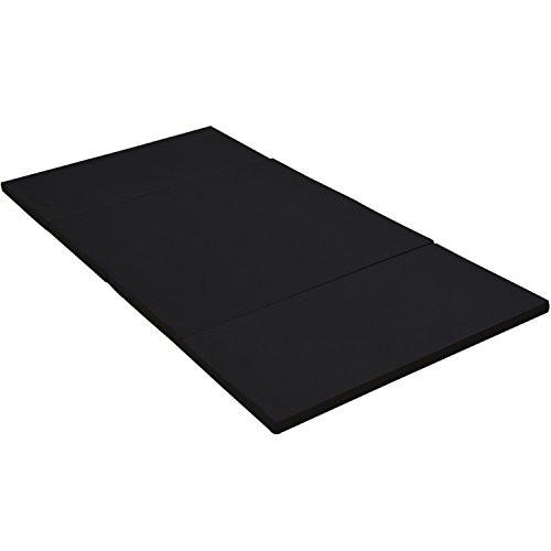 アキレス(Achilles) マットレス かため 厚み4cm 4つ折 抗菌 防臭 付き シングル ブラック MK4-S(BK)