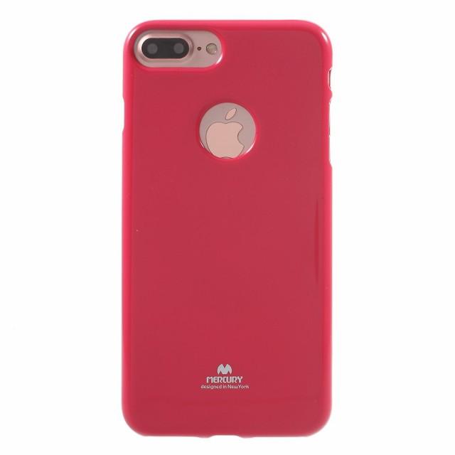 iPhone 8 Plus ソフトケース iPhone 7 Plus ソフトケース ローズ 強化ガラス保護フィルム付き スマホケース  アイフォン8 プラス / アイ