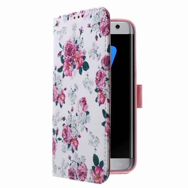 Galaxy S7 edge レザーケース I 液晶保護フィルム付き スマホケース  ギャラクシーS7エッジ Galaxy S7 edge ケース 手帳 Galaxy S7 edge