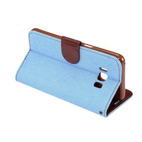 Galaxy S8 Plus レザーケース ベイビーブルー 液晶保護フィルム付き スマホケース  ギャラクシーS8 プラス カバー 手帳型スタンド機能 IC