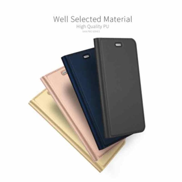 Huawei P10 Lite レザーケース グレー 強化ガラス保護フィルム付き スマホケース  ファーウェイ P10 Lite カバー 手帳型スタンド機能 IC
