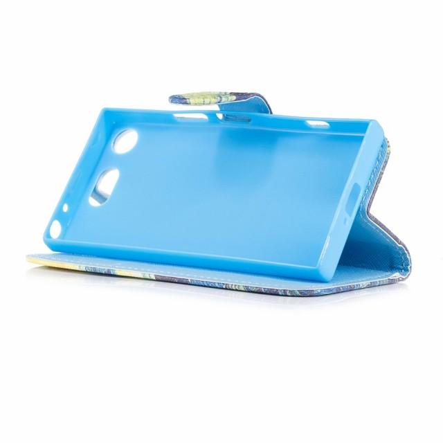 Xperia XZ1 Compact SO-02K レザーケース Q 液晶保護フィルム付き スマホケース  エクスペリア XZ1コンパクト カバー 手帳型スタンド機能