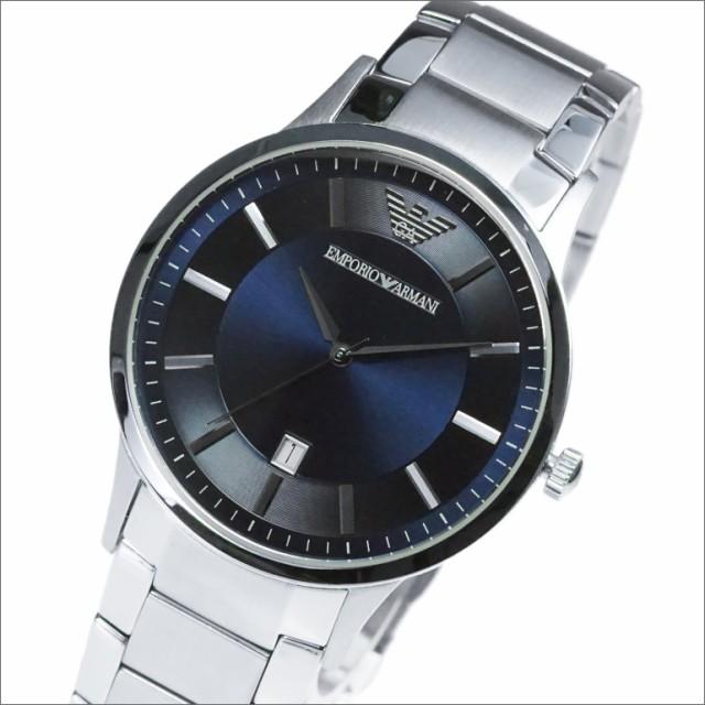 5a18005283 EMPORIO ARMANI エンポリオアルマーニ 腕時計 AR2477 メンズ Classic クラシック クオーツ