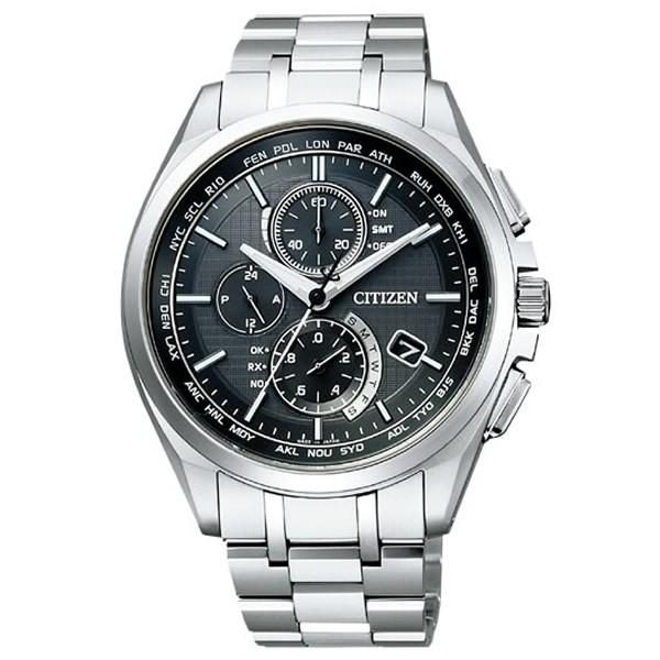 お気に入りの 【正規品】CITIZEN シチズン AT8040-57E 腕時計 AT8040-57E メンズ シチズン ATTESA アテッサ 腕時計 電波ソーラー クロノグラフ, コレクト&コレクト:333423a0 --- chevron9.de