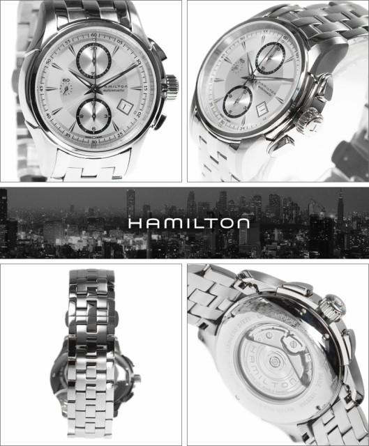 53f43d19b3 HAMILTON ハミルトン 腕時計 H32616153 メンズ Jazzmaster Auto chrono ジャズマスター オート クロノグラフ  自動巻き