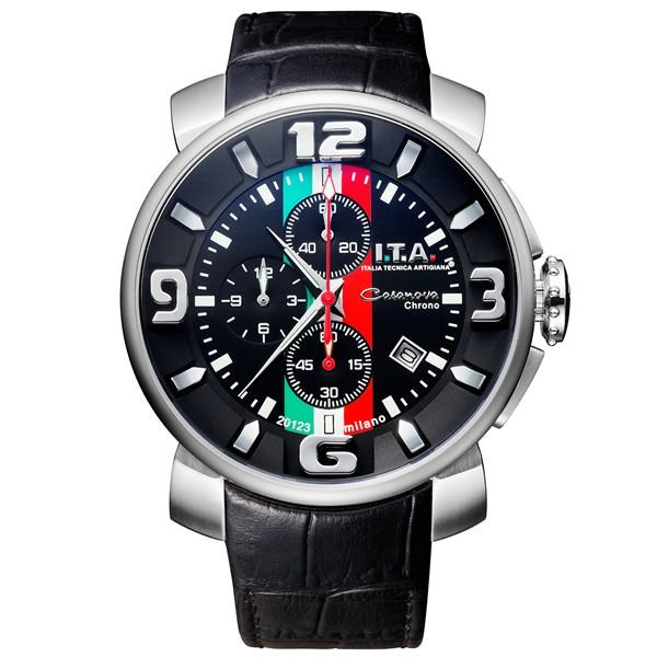 お買い得モデル 【正規品】I.T.A アイ・ティー・エー 腕時計 腕時計 127022 メンズ 127022 Casanova Chrono カサノバ・クロノ トリコローレ クオーツ, Sweetwater american mart:a02d3f54 --- kzdic.de