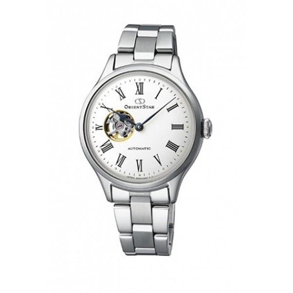 最新な ORIENT オリエント 腕時計 RK-ND0002S レディース CLASSIC SEMI SKELETON クラシック セミスケルトン, A-ONE dba41efd