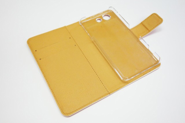 Xperia Z5 Compact SO-02H専用 スカラー 手帳型ケース 60221-bl ScoLar パンダ リス フラワー チョウ 水彩 フリップ ブックレット ダイア
