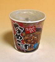 ★まとめ買い★ 旭松 生みそずいカップ なめこ汁 1食 ×6個【イージャパンモール】