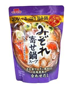★まとめ買い★ イチビキ ストレートみぞれ寄せ鍋スープ 750g ×10個【イージャパンモール】