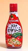 ★まとめ買い★ カゴメ 完熟トマトのピザソース 160gチューブ ×10個【イージャパンモール】