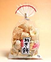 ★まとめ買い★ ヒロミ食品 巾着こわれかき餅 50g ×15個【イージャパンモール】