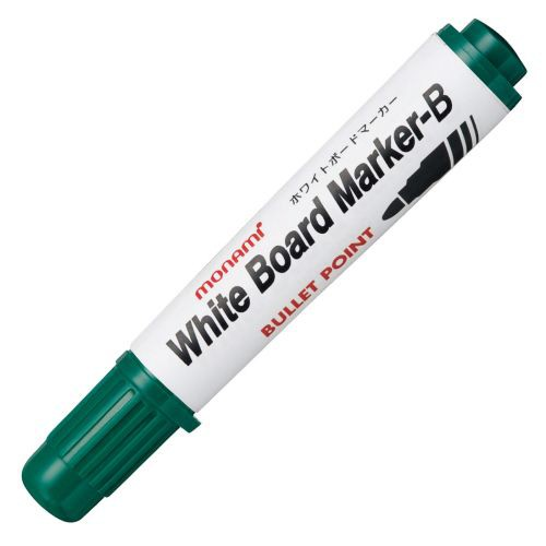 MONAMI ホワイトボードマーカーB 丸芯 緑 1本