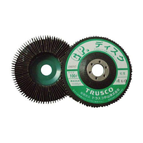 TRUSCO GPディスクホイール(垂直植えタイプ) #100 1箱(5枚)