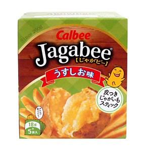 カルビー Jagabeeうすしお味 90g 【イージャパンモール】