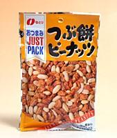 なとり JPつぶ餅ピーナッツ 75g【イージャパンモール】