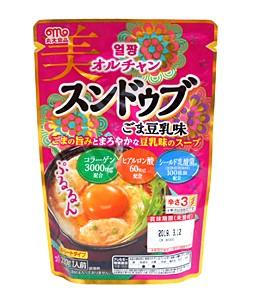 丸大食品 オルチャン スンドゥブごま豆乳味 220g【イージャパンモール】