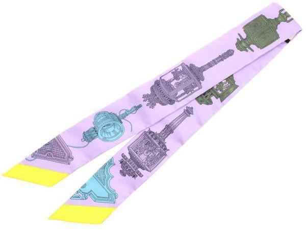 【送料無料】【新品】エルメス スカーフ ツイリー シルクツイル メルヴェイユーズ・ランタン Merveilleuses Lanternes HERMES 2017年秋冬