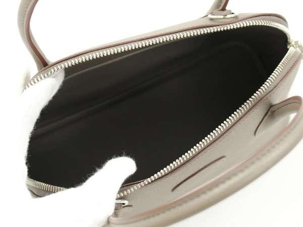 【送料無料】【新品】エルメス ハンドバッグ ボリード27 cm エタン×シルバー金具 ヴォーエプソン A刻印 HERMES Bolide バッグ
