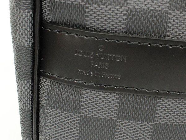 【送料無料】【中古】ルイヴィトン ボストンバッグ ダミエ・グラフィット キーポル・バンドリエール 45 N41418 ヴィトン バッグ トラベル