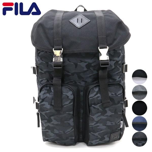 f0926f001cd4 送料無料 FILA リュック リュックサック バックパック デイバッグ メンズ レディース 大容量 シンプル 迷彩