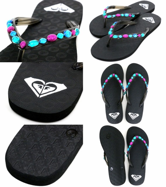 【ROXY】【ビーチサンダル】【サンダル】ビーチサンダル レディース メンズ レディースファッション サーフ 海 海水浴 プール