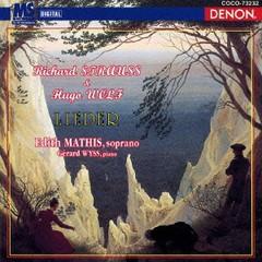 エディット・マティス(ソプラノ)/R.シュトラウス&ヴォルフ: 歌曲集 [廉価盤]/COCO-73232