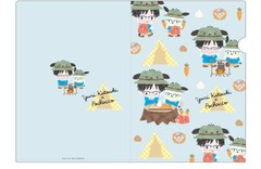 送料無料有/[グッズ]/ユーリ!!! on ICE x サンリオキャラクターズ クリアファイルセット キャンプ ver./NEOGDS-280629