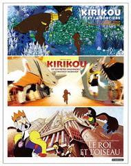 送料無料/[Blu-ray]/「キリクと魔女」「キリクと魔女2」「王と鳥」フランス・アニメーションBlu-ray BOX/アニメ/DAXA-5360
