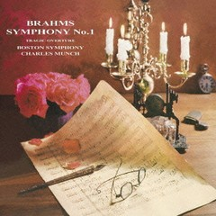 送料無料有/シャルル・ミュンシュ (指揮)/ブラームス: 交響曲第1番 & 悲劇的序曲 [Blu-spec CD] [完全限定生産]/BVCC-20002