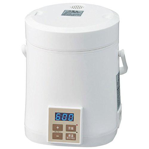 AL COLLE(アルコレ) ミニライスクッカー(炊飯器) ホワイト ARC-T104/W