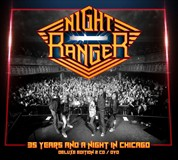 ☆【おまけ付】35 YEARS & A NIGHT IN CHICAGO / NIGHT RANGER ナイト・レンジャー(輸入盤) 【2CD+DVD】 8024391076644-JPT