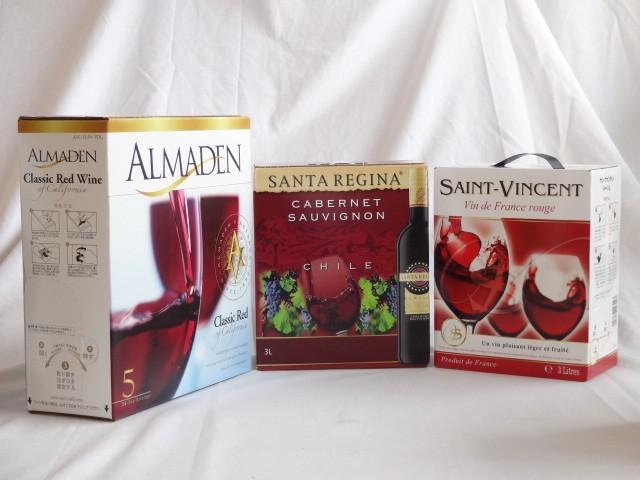 4セット カリフォルニア産チリ産フランス産大容量赤ワイン飲み比べセット(アルマデン クラシック カリフォルニア レッド 赤ワイン ミデ