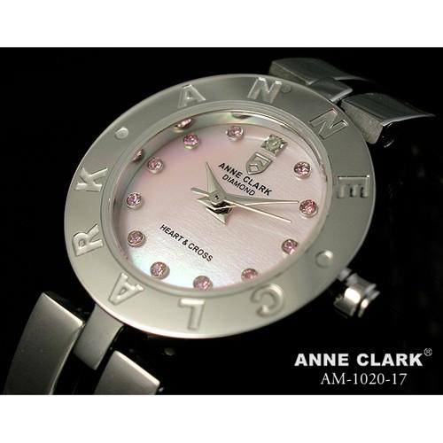【待望★】 ANNE CLARK CLARK ANNE ハート&クロス レディースウォッチ AM1020-17, 管楽器のマールミュージック:6325ac2f --- 1gc.de