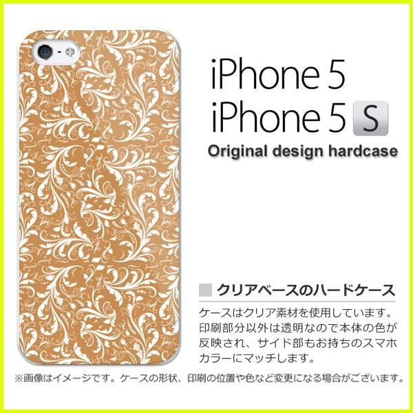 ゆうパケ iPhone5/iPhone5S対応 ハードタイプ ケース/カバー 保護フィルム付[シンプル(ブラウン)/i5-pc-new1595]