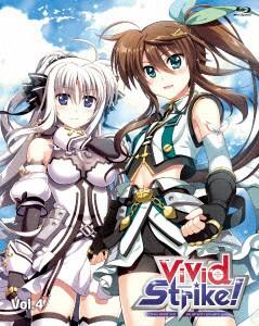 【Blu-ray】ViVid Strike! Vol.4(Blu-ray Disc)/ViVid Strike! [KIZX-284] ビビツド ストライク!
