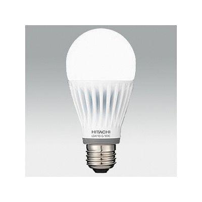 日立 【お買い得10個セット】LED電球 一般電球形 広配光タイプ 密閉器具対応 100形 電球色 E26 LDA13LG100C_10set
