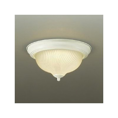DAIKO LED小型シーリングライト 白熱灯100W相当 非調光タイプ 電球色タイプ ホワイト DCL-39564Y