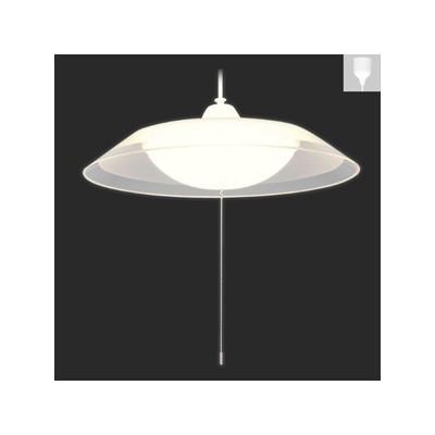 アイリスオーヤマ LED洋風ペンダントライト ~8畳用 電球色相当 2段階調光機能付 引掛シーリング取付式 プルスイッチ付 PLC8L-P2