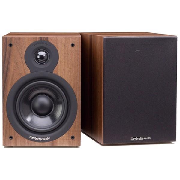 【送料無料/新品】 Audio DWN スピーカー SX-50 ペア] Cambridge [Dark Walnut-オーディオ
