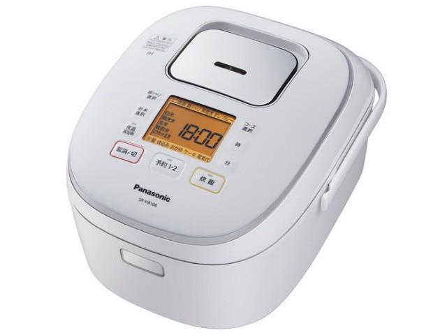 全国宅配無料 パナソニック 炊飯器 SR-HB108-W [ホワイト], 昇永堂 e27c4062