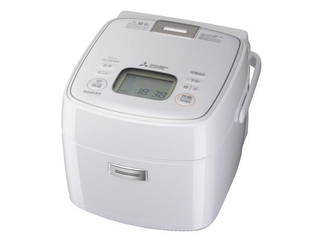 お気にいる 三菱電機 炊飯器 備長炭 炭炊釜 NJ-SEA06-W [ピュアホワイト], Kanmi. d389d30b